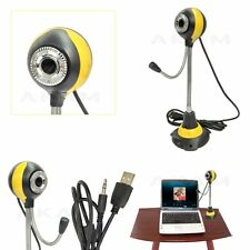 Curvabile Digital USB PC Webcam Videocamera/microfono per PC Desktop Computer Laptop