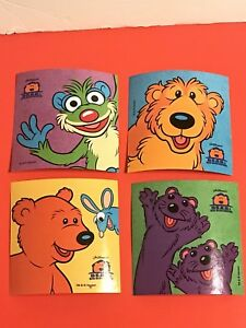 Bear In The Big Blue House Pip Pop Tutter Treelo Big 4 ...