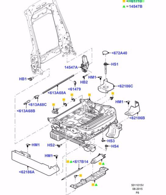 Ford Seat Diagram