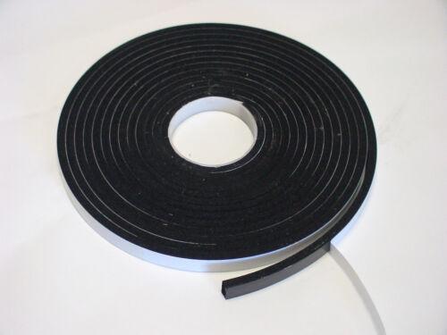 Zellkautschuk Gummidichtung Dichtungsband  5mx10mmx6mm schwefelfrei