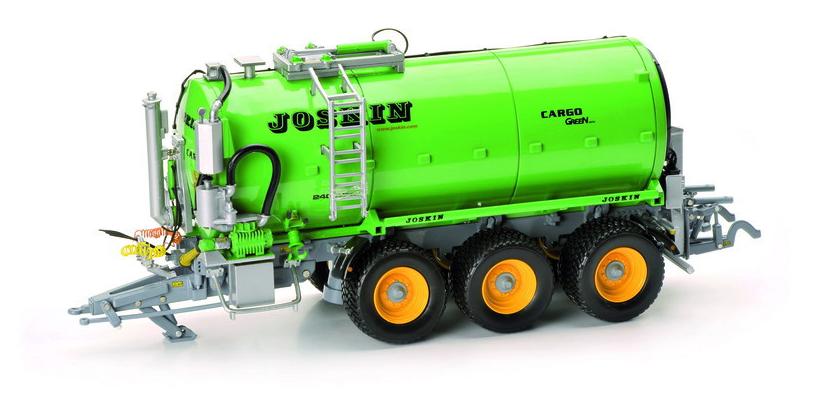ROS 60214 échelle 1 32 JOSKIN Cargo Vert Slurry Tanker