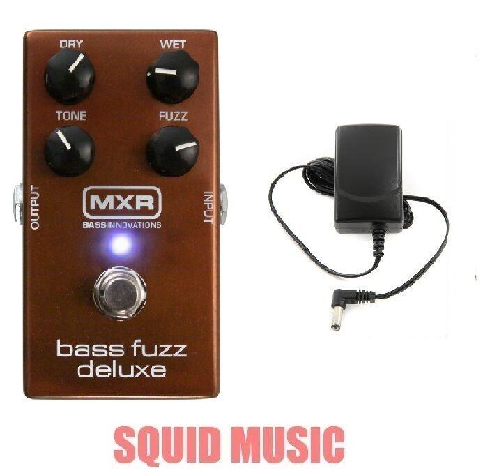 MXR Deluxe Bass Fuzz Effects Pedal M-84 ( FREE POWER SUPPLY ) M84 DUNLOP