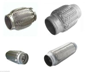 Exhaust Flexible Pipe Connector Tube Repair Flexi Joint Flexipipe All Sizes