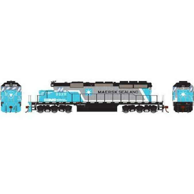 NUOVO Athearn pronto a correre HO NS Norfolk Southern Maersk EMD SD402  3329