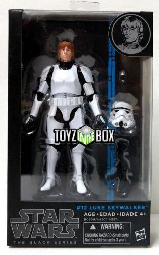 """6 In Action Figure Stormtrooper Star Wars Black Series #12 /""""Luke Skywalker/"""""""