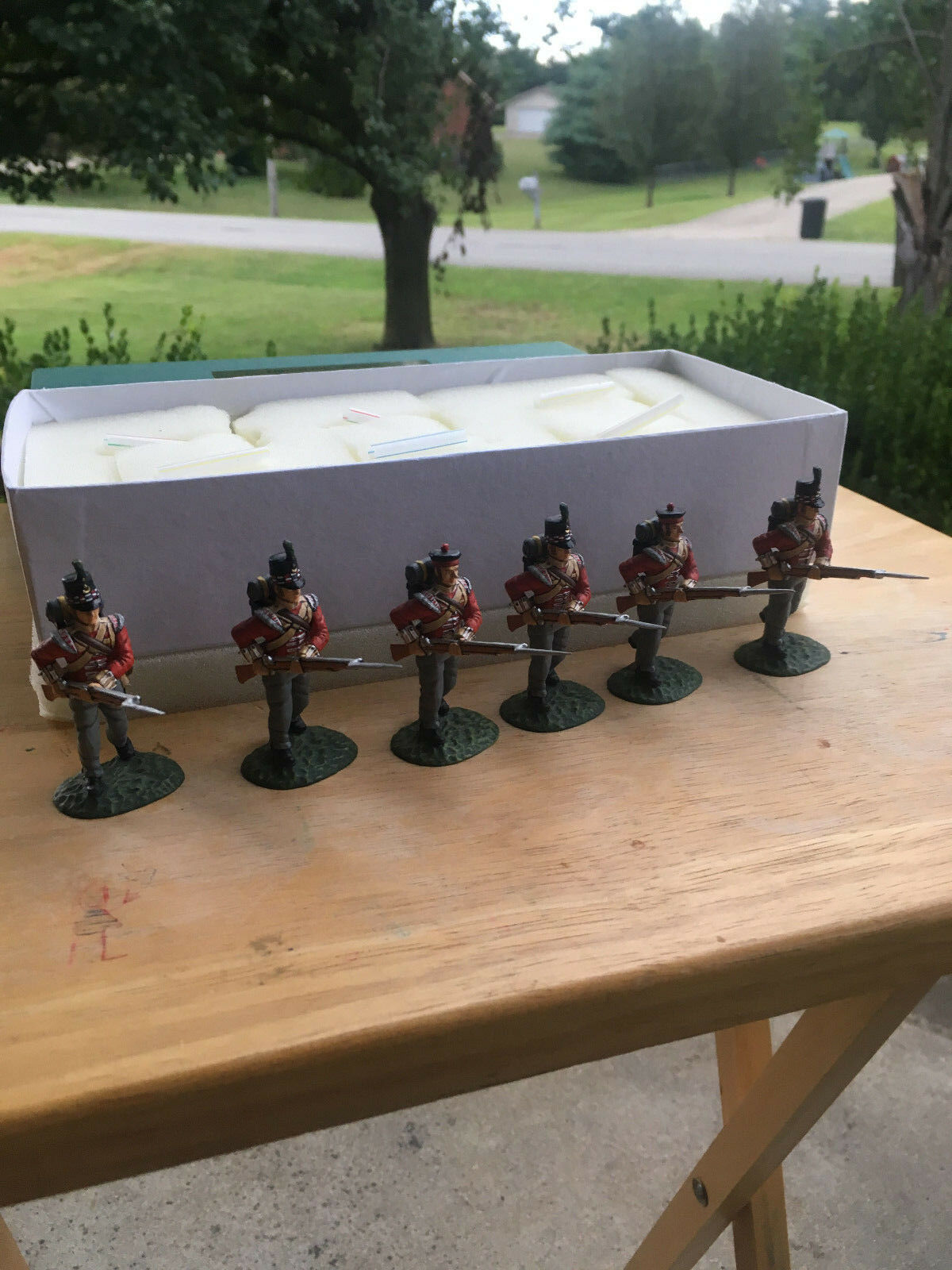 FRONTLINE NAPOLEONIC WAR 1ST BATTALION 71ST (GLASGOW HIGHLAND) 6 advancing ,MIB
