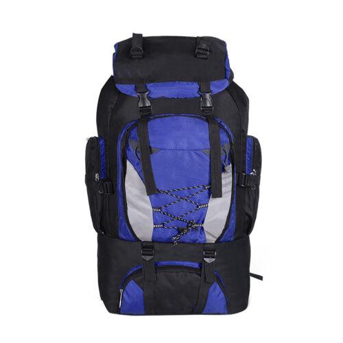 80L Hiking Backpack Travel Trekking Camping Mountaineering Outdoor Waterproof