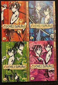 Red-Hot-Chili-Samurai-1-4-1-2-3-4-Manga-Graphic-Novel-Tokyopop-OOP