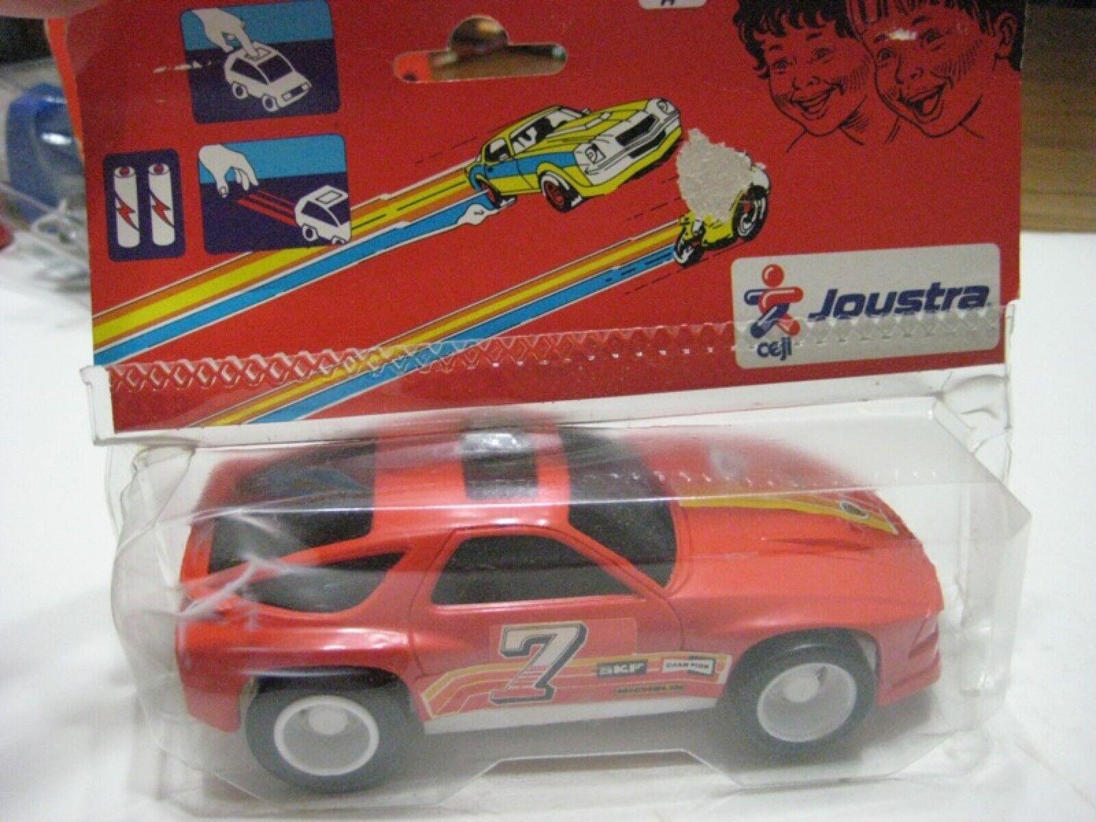 Joustra (France) Tangerine Porsche 944 Rally 1 27 Plastic Electric Friction NIB