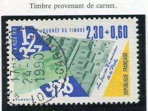 TIMBRE FRANCE OBLITERE N° 2640 METIER DE LA POSTE CARNET