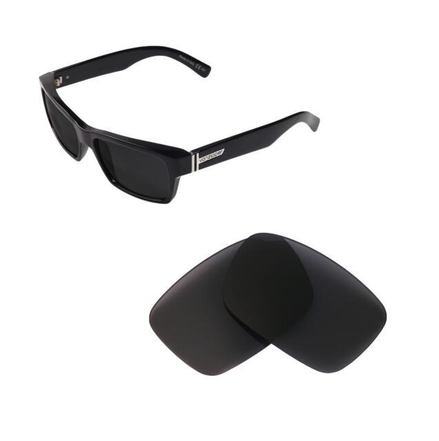 cb46c0cf6ff Walleva Non-polarized Black Replacement Lenses for VonZipper Fulton  Sunglasses