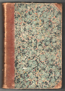 1851-HOUSEHOLD-WORDS-Charles-Dickens-BOUND-Leather-WEEKLY-Journal-MAGAZINE