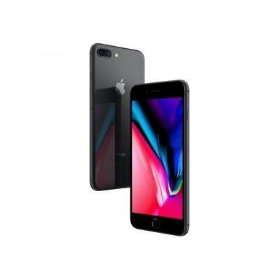 "Apple iPhone 8 Plus 64GB Space Grau LTE IOS Smartphone ohne Simlock 5,5"" Display"