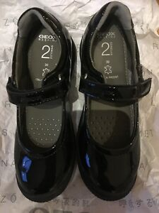 Image is loading Geox-Respira-Giola-2-Fittings-Black-Patent-Leather- 9e782f2aafdc