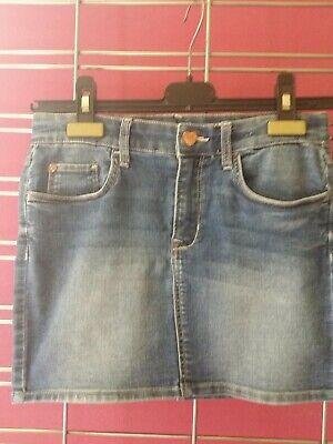 C1 H&m Superbe Jupe Jeans T 10 Ans (taille Ajustable ) Excel Etat Prevenire I Capelli Da Ingrigire E Utile Per Mantenere La Carnagione