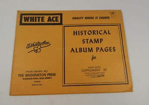 Image Is Loading White Ace United States Supplement 034 JB