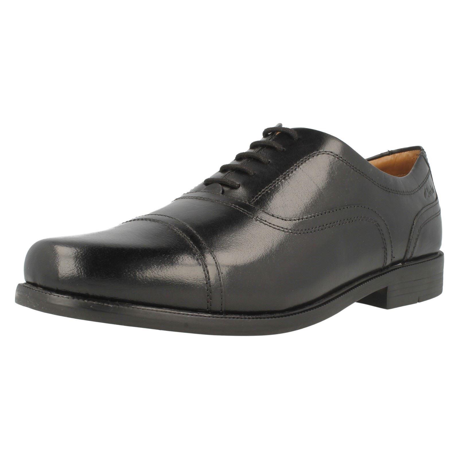 Clarks Scarpe Da Uomo Formale Beeston Cap Scarpe classiche da uomo