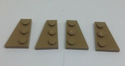 8 Pieces 4 Pair LEGO White Wedge Wing Plate 2 x 3 Left /& Right 43722 43723