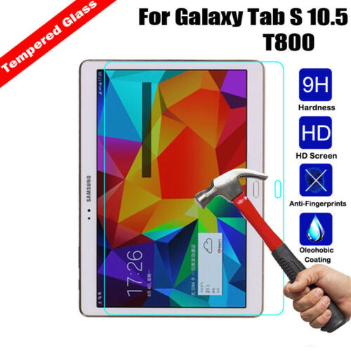 Premium Real Tempered Glass Screen Protector For Samsung Galaxy Tab A E// Tab 2 3