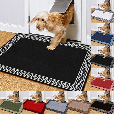 Non Slip Door Mats Indoor Small Large Washable Rugs Anti Slip Door Entrance Mat