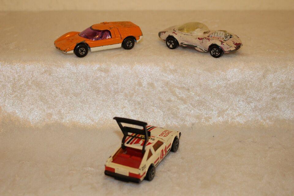 Modelbil, Matchbox, skala 1:59 & 1:63