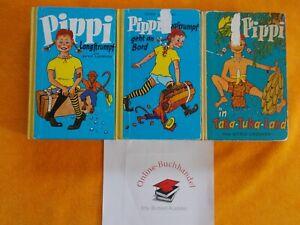 Details Zu Astrid Lindgren Meisterdetektiv Pippi Langstrumpf Komplette Serie Teil 1 3 1969