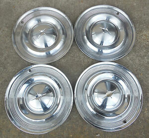 """14"""" 1957 Oldsmobile Hubcaps Wheel covers Classic"""