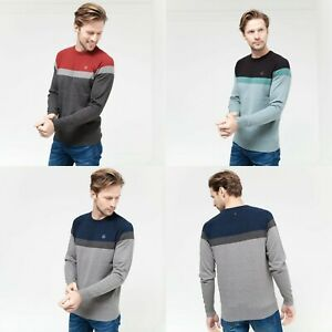 Duck-and-Cover-Mens-Casual-Crew-Neck-Thin-Knit-Jumper-Sweater-Top-Winter-Hempton