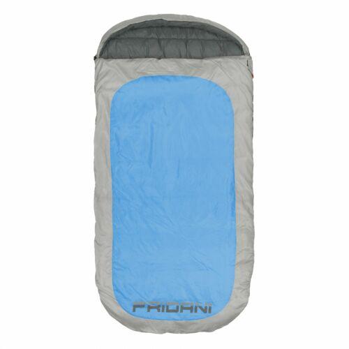 Manta saco de dormir PB 220x110 XXL azul -18°C hidrófugo lavable