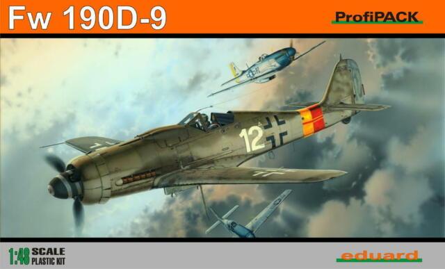 Eduard 1//48 Focke-Wulf Fw-190D-9 ProfiPACK # K8184