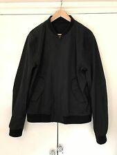Men's Acne Bomber Jacket Black 52/XL