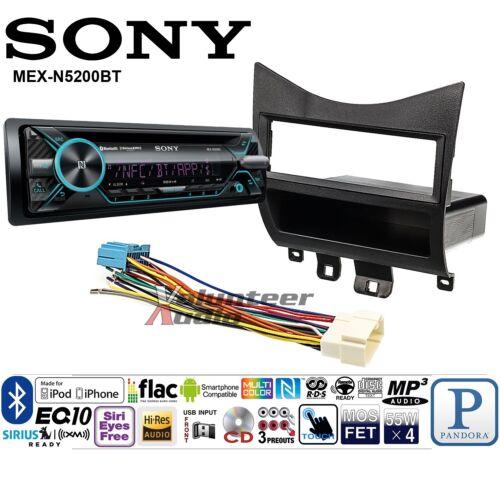 Sony Car Stereo Radio Bluetooth CD Player Dash Install Mount Kit Harness Antenna