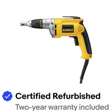 DEWALT DW272R 6.3 Amp 4000 RPM VSR Drywall Screwgun Certified Refurbished