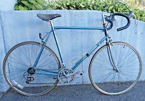 Vintage-Motobecane-Jubilee-Sport-Blue-Road-Touring-Bike-Gama-Steel-Frame-59-69mm