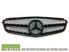 2008-2011 Mercedes-Benz W204 C63AMG Sedan Only Matte Black C63FGMB Front Grille