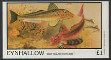 GB Locals - Eynhallow (1557) - 1982 FISH imperf souvenir sheet u/m