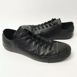 df463141139520 Mens 10 44 Converse Leather Chuck Taylor All Star Shoes Low Top ...