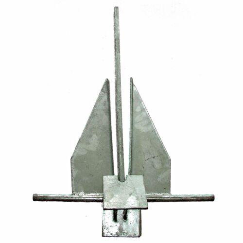 Plattenanker Danforthanker Osculati Danforth Anker verzinkter Stahl 4,0 kg Bootsteile & Zubehör Anker & Ketten