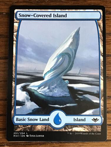 Snow-Covered Island  Near Mint MTG Modern Horizons **20 In One Set**