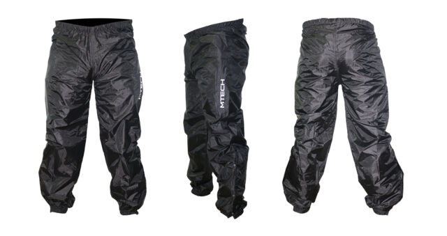 MTECH Rain Pants Trouser Rain Wear Pants 100% Waterproof Pants Trouser