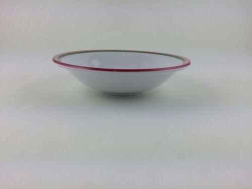 Longaberger Plastic Snack Bowl Sunny Day Stripe Red