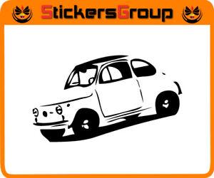 ADESIVO-MACCHINA-500-OLD-STYLE-PER-AUTO-MOTO-CASCO-TUNING