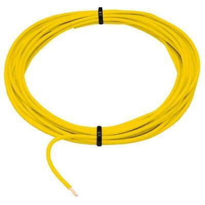 10m FLRY Fahrzeugleitung gelb 1mm² rund Kabel Litze KFZ Stromkabel