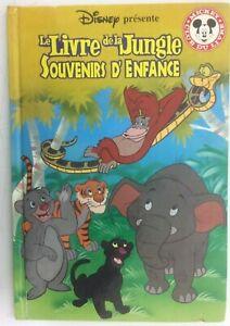 Details Sur Disney Le Livre De La Jungle Souvenir D Enfance Mickey Club Livre