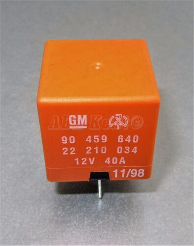 92-05 127-Vauxhall Multi-uso 5-Pin Naranja Relé GM 90459640 22210034 12V 40A
