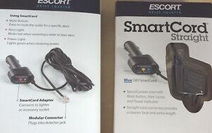 Passport-Escort-SmartCord-Straight-Cord-BLUE-LED-Mute-Button-Brand-New