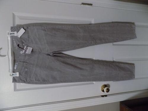 Gap Women/'s Always Skinny 1969 Gray Corduroy Jeans Size 26r ECU