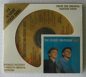 THE-EVERLY-BROTHERS-The-Everly-Brothers-Best-DCC-GOLD-CD-NEU-GZS-1141-SEALED