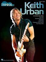 Keith Urban Strum & Sing Sheet Music Easy Guitar Book 000118558