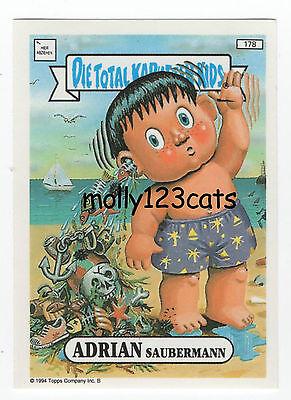 Die Total Kaputten Garbage Pail Kids GPK Topps German 1994 #58 Kathi Strophe